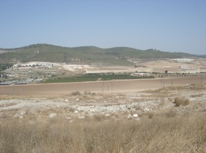 View from Bet shemish